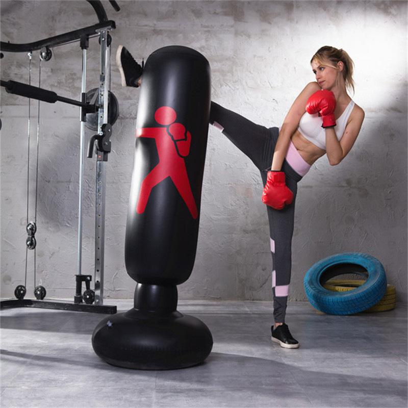 Inflatable Heavy Freestanding Punching Boxing Bag Punch Boxing Bag Stand