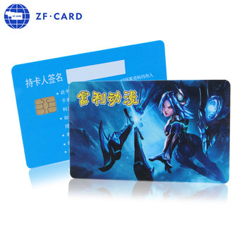 China Customized Printing Plastic Membership Card Maker