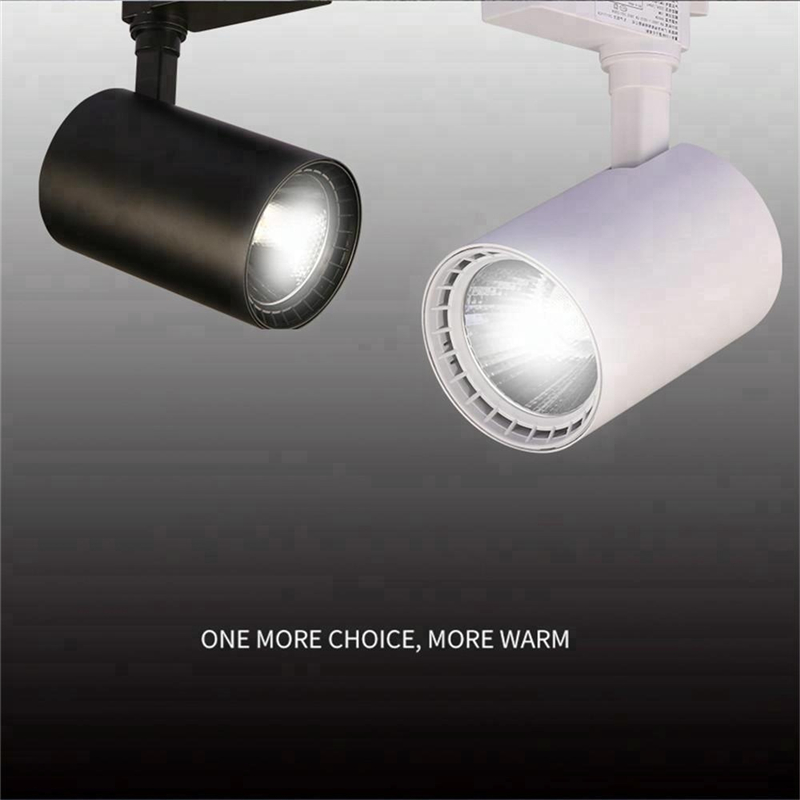 2020 Hot Sales LED 20W 30W 40W 4wire 3 phalse track lighting system for Clothing Shop