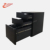 New style hot selling in Japan famous key lock Arc shaped metal pedestal full steel material with three drawers used in offices