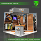 Fashion exhibition stand design from Shanghai