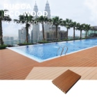Rucca 2020 NEW wood plastic composite decking, good price wpc flooring, eco-friendly pvc anti-uv flooring 140*25mm