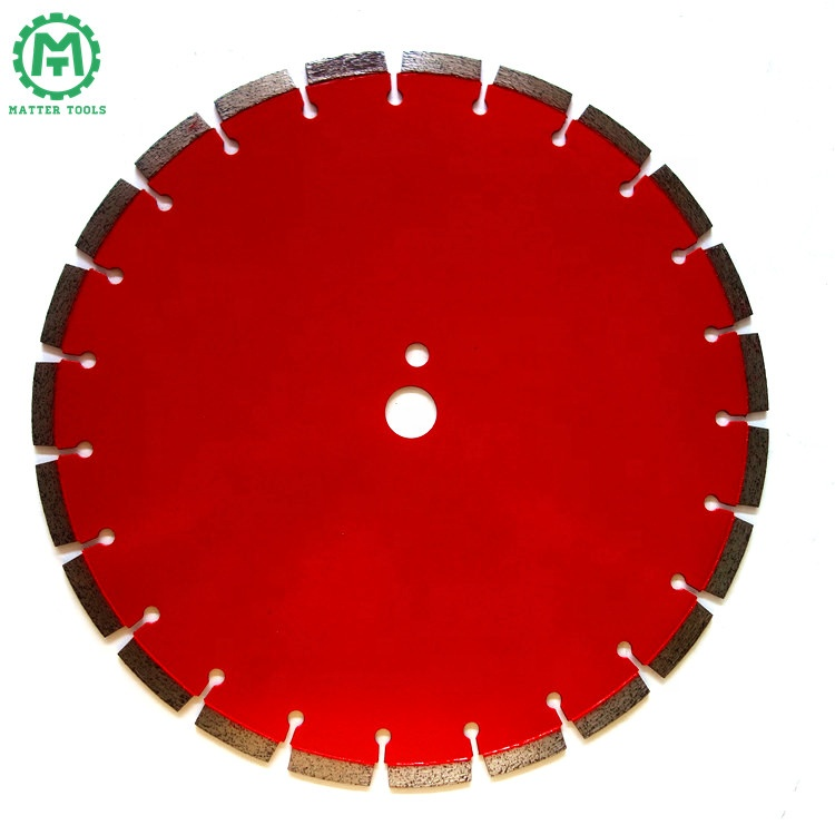 Red Painting Electric Machine Use of Diamond Circular Cutting Concrete Blade