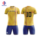 Custom sublimation polyester dry fit team youth soccer wear jersey uniform kits for sale