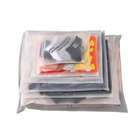 Cheap Custom Frosted Clear Poly Bags Printing PE CPE Slider Zip Lock Plastic Poly Bag