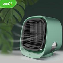 SaengQ портативный вентилятор мини Кондиционер Вентилятор увлажнители вентиляторы воздушного охлаждения USB кулер Настольный вентилятор для ...(Китай)