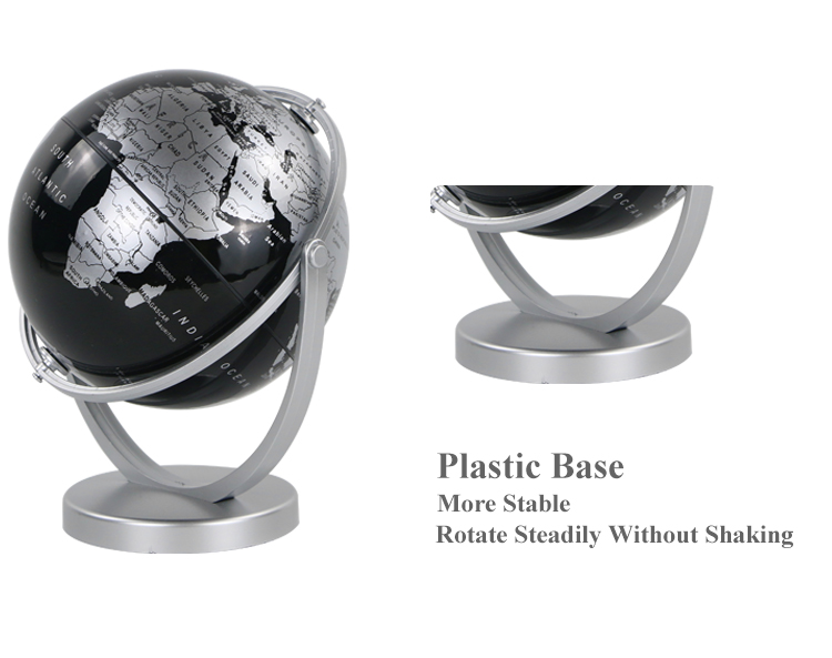 14cm Universal Globe world map decoration earth globes artificial  Globe