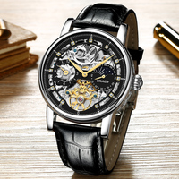 Ready to ship watches luxury brand automatic mens 316l stainless steel with mechanical swiss movement