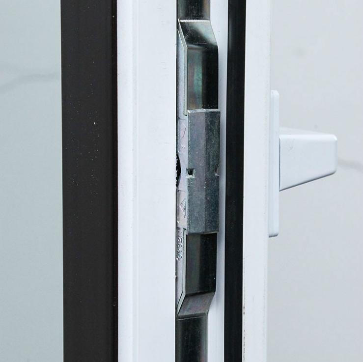 Fenêtre à battants Pvc verre trempé de haute qualité Upvc vinyle
