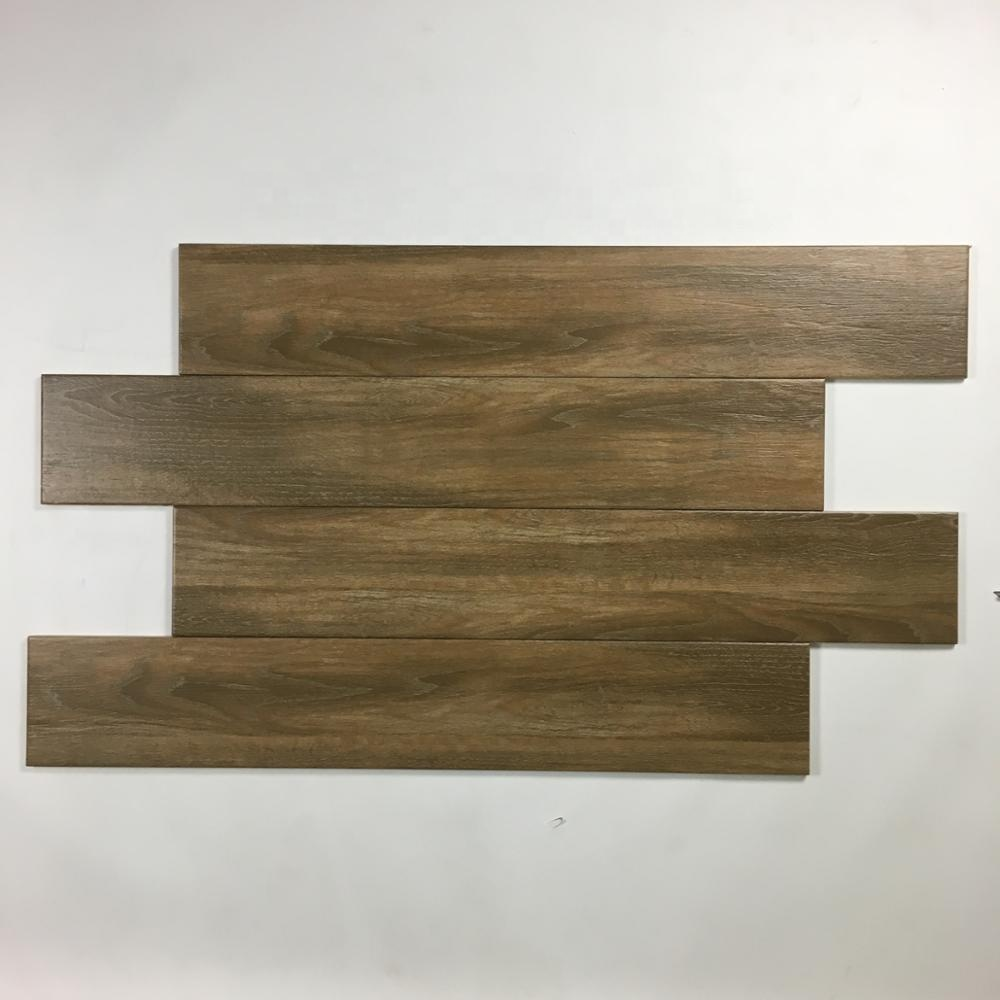 150x900mm brown color <strong>non</strong> <strong>slip</strong> wooden ceramic <strong>floor</strong> <strong>tile</strong>