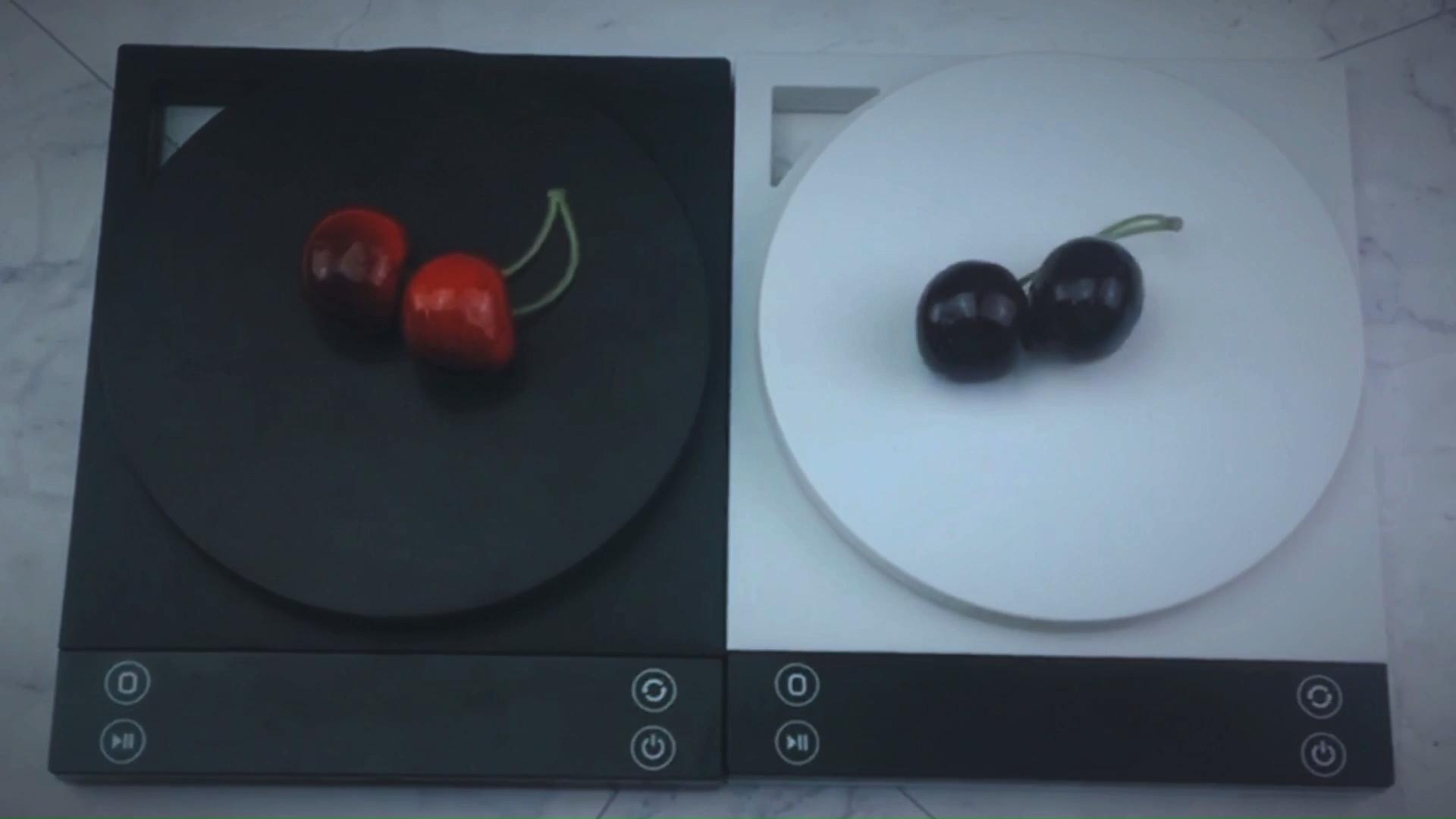 Amazon vendita calda 3kg ABS Piazza Digital Diet Bilancia Da Cucina Con Timer