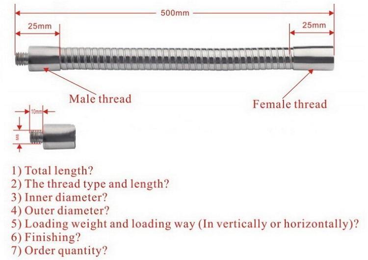 flexible gooseneck pipe