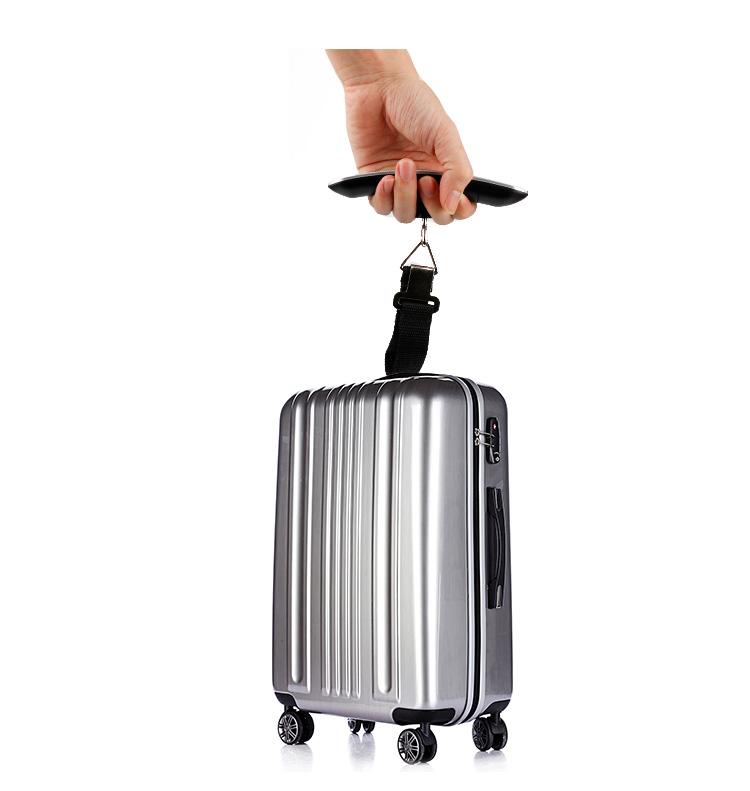 旅行荷物デジタルスケールで種類の色50キログラムでtrae機能