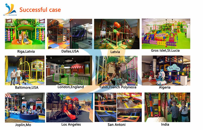 Aangepaste Kinderen Commerciële Indoor Speeltuin Glijbaan, Soft Kids Games Indoor Speeltoestellen