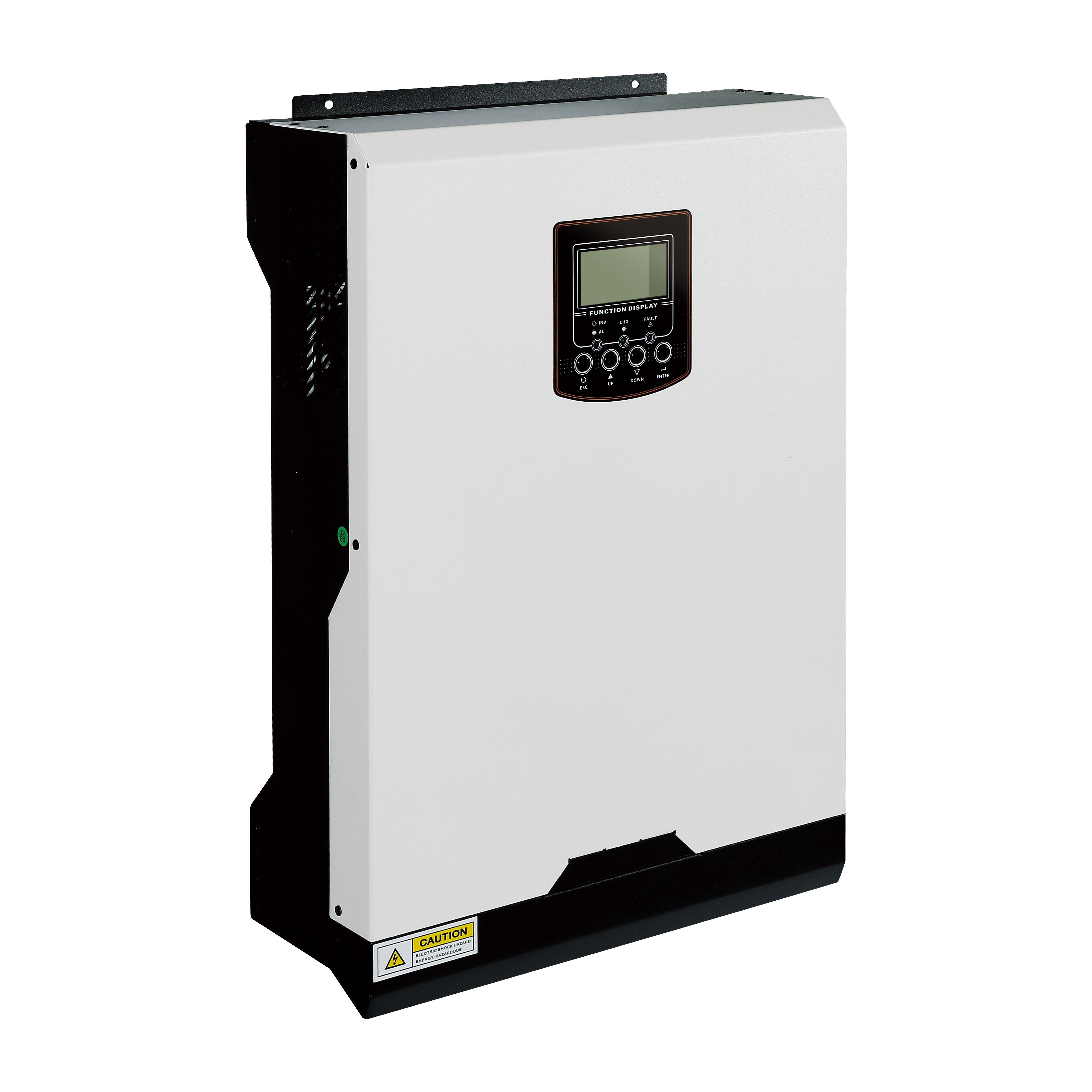 3kva inversor solar híbrida 24v construído em bateria 50A PWM com bom preço inversor solar