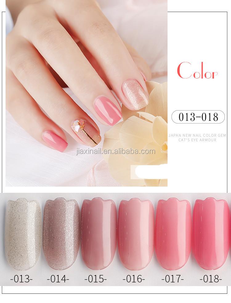 Gel Nail Polish Pink Series Colors Nail Gel UV Vernis Semi
