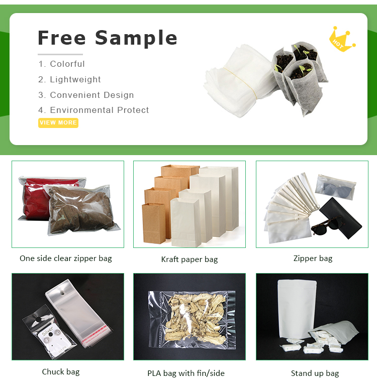 Seedling Wholesale OEM Recycle Biodegradable PLA Fruit Garden Potato Grow Plant Nursery Bag