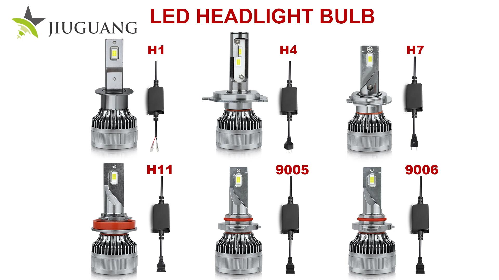Beste 16000 Lumen 12V 24V Starke Mini Kleine 9005 H1 9012 Faro LED Kopf Licht Fan Kühlung Decoder f16 H11 H7 H4 Auto Led Scheinwerfer