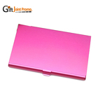Promotional Business Metal Aluminum Alloy Card Holder