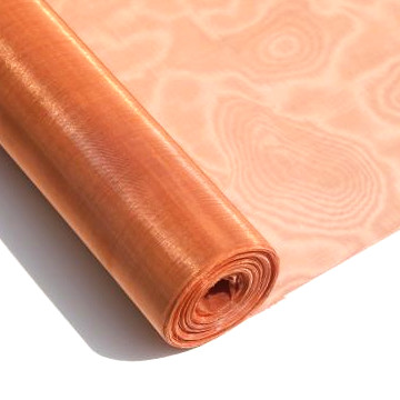 80 100 150 200 250 350 mesh antimicrobial fabric / copper infused fabric cloth wire mesh