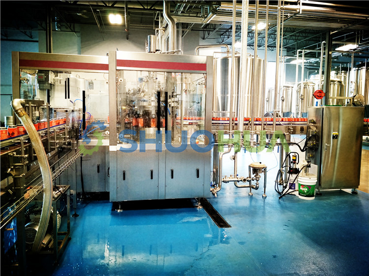 Shuohua SH100 Carbonated Beverage Can Filler/Filling Machine for  Microbreweries