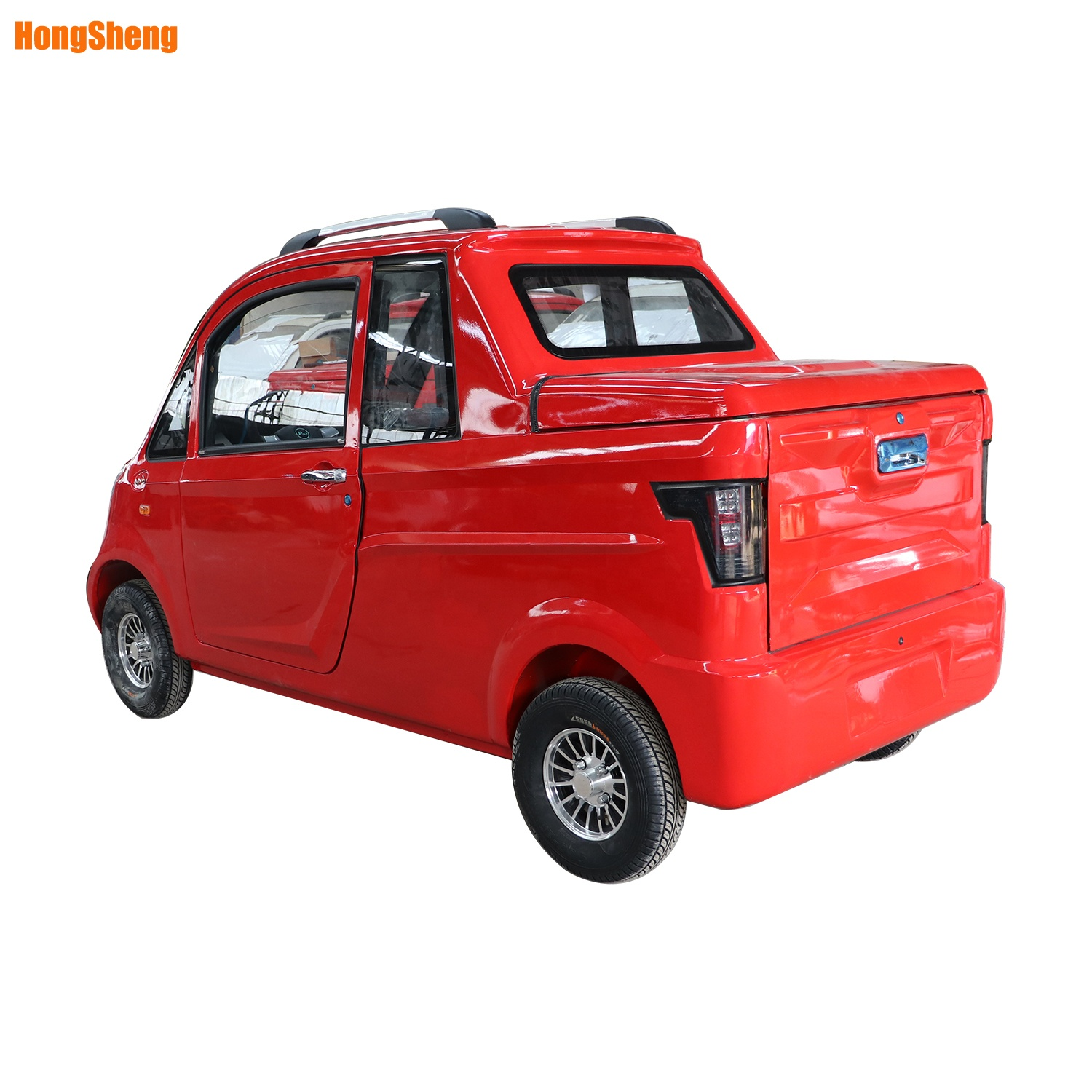 Left hand drive electric pickup truck small electric car with lithium battery