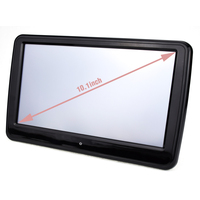 9 inch Digital Color LCD Screen Touch Button Headrest Car DVD Player