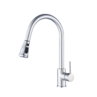 Sanitary Ware Supplier 0.1~1.6MPa Deck Mounted Pull Down Kitchen Faucet