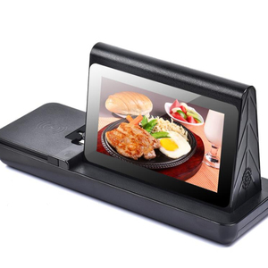 High Capacity 20800mAh Advertising Display Restaurant Menu Power Bank Restaurant Phone Charging Station