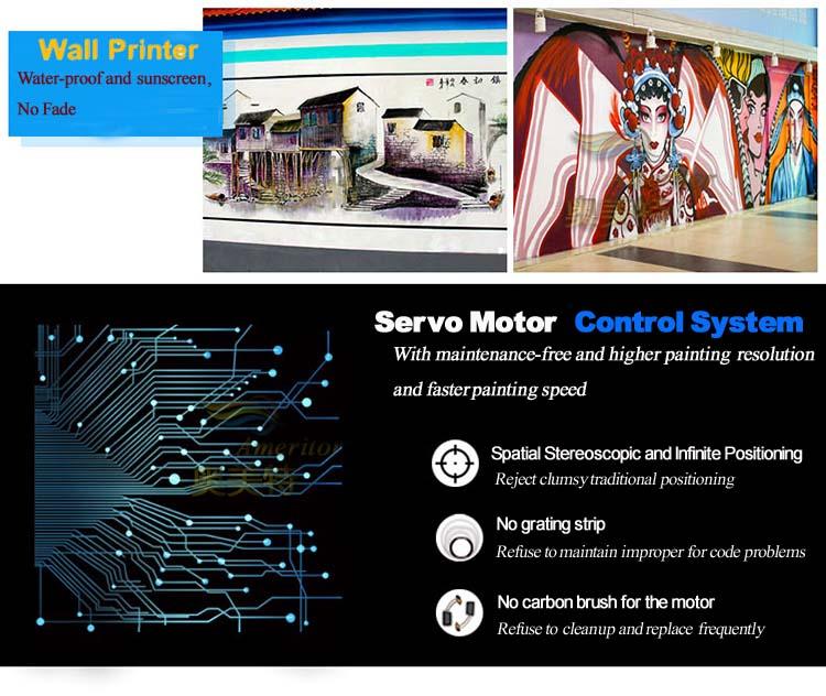 طابعة حبر إلكترونية بتأثير ثلاثي الأبعاد على الحوائط/سعر آلة طباعة