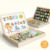English digital kids 3D jigsaw puzzle draw board children cognitive learning magnetic wooden puzzle