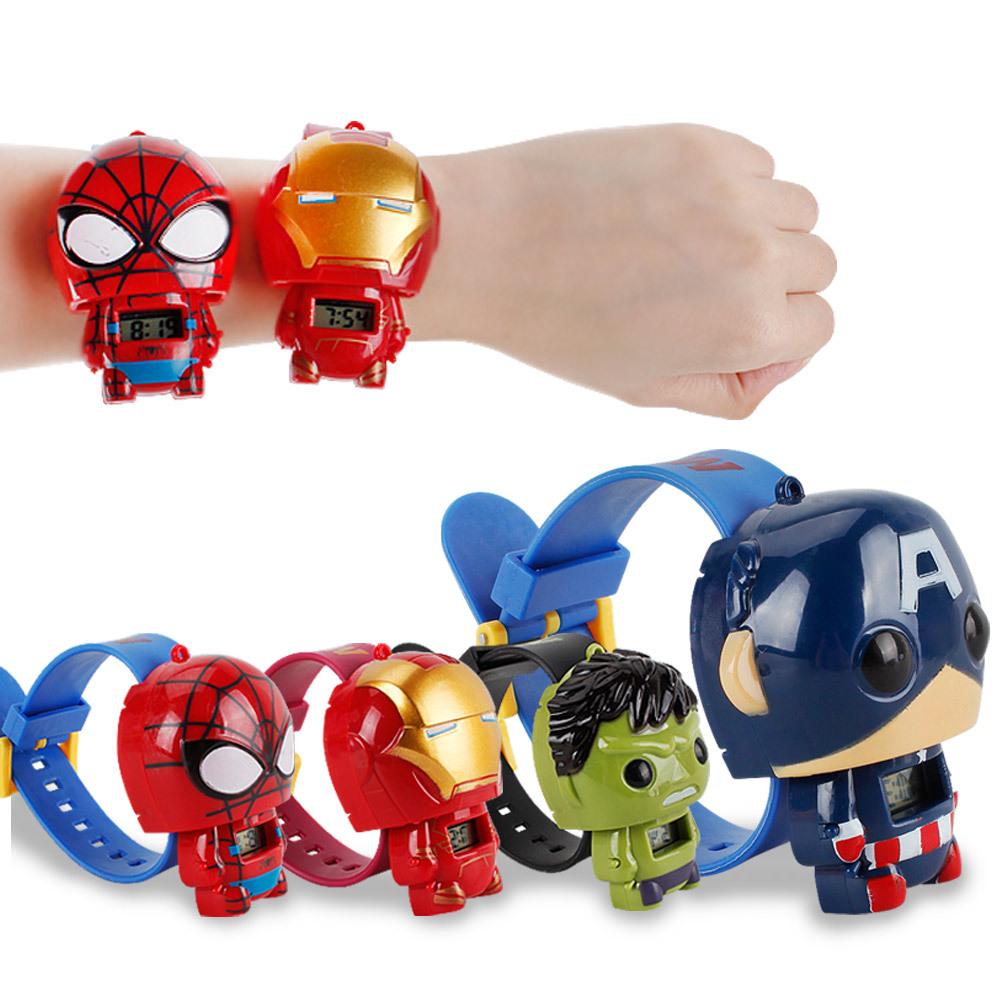 ¡Superventas! reloj para niños, juguetes de transformación para niños en 2019, reloj de dibujos animados de Anime