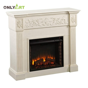 simple europe type style carve designs natural stone fireplace
