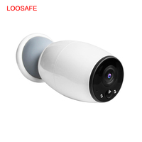 Loosafe Newest Out Door Infrared Security Wireless Outdoor 1mp Thermal Wall Battery Waterproof Wifi Camera With 720p Or 1080P