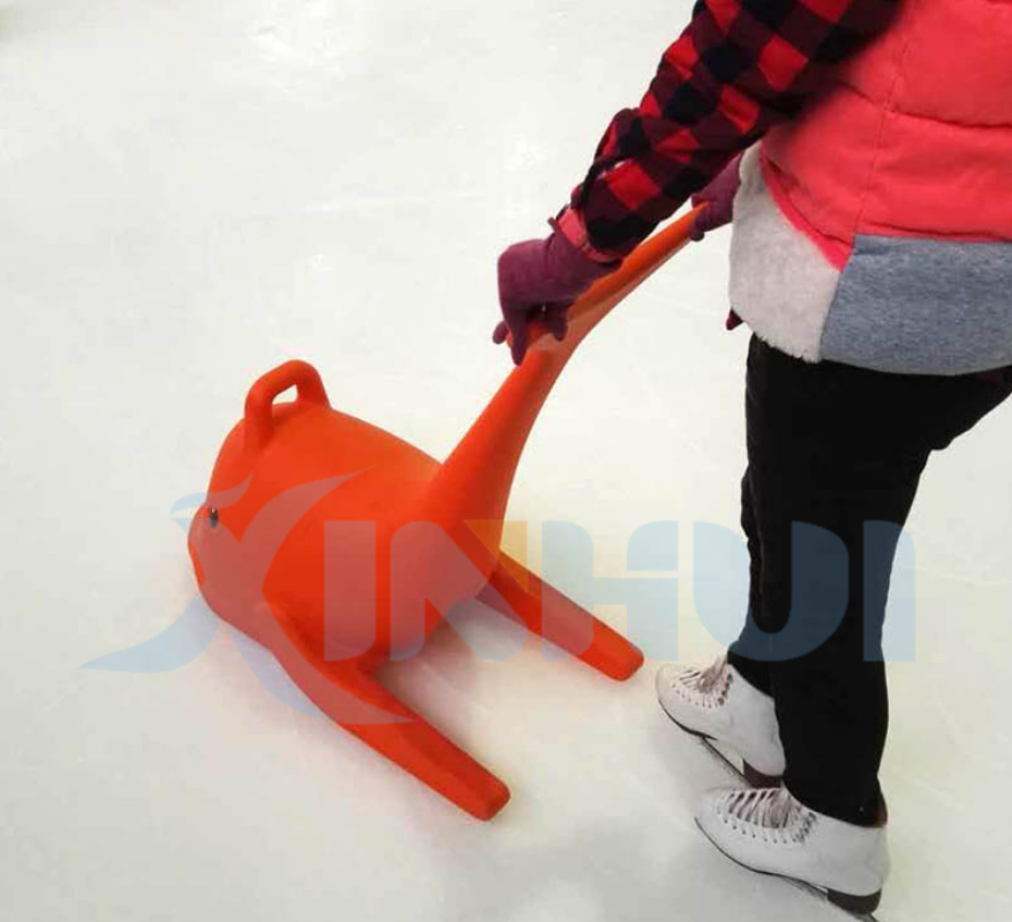 High quality Beginner Training Ice skating funny dolphin helper AIDS for children learner used in ice rink