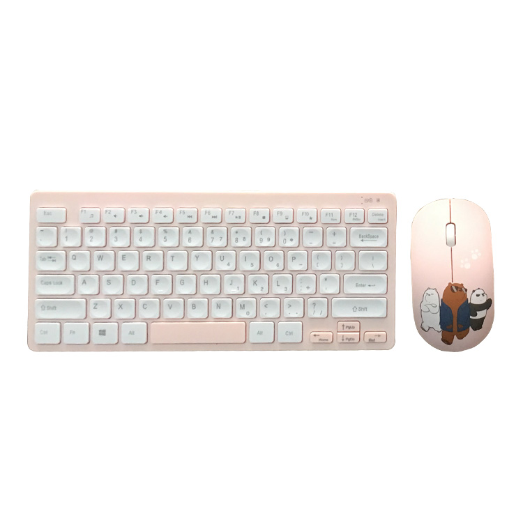 For Laptop Style nano dongle wireless remote control keyboard and mouse
