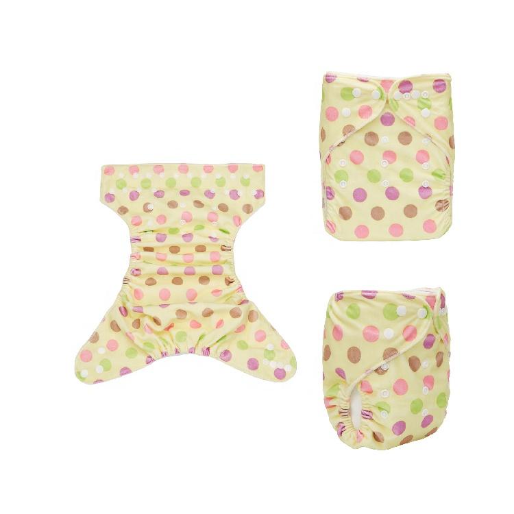Yüksek kaliteli organik ucuz fiyat yıkanabilir bebek bezi bezi, yeniden Newborn çift sıralı yapış bez bebek bezleri