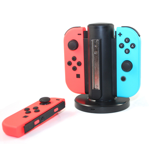 Promo Cheap  4 in 1 rechargeable battery wireless joystick Docking Console Charging for Nintendo Switch