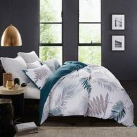 AB design tropical leaves printed king size 3d french bedding sets bedding