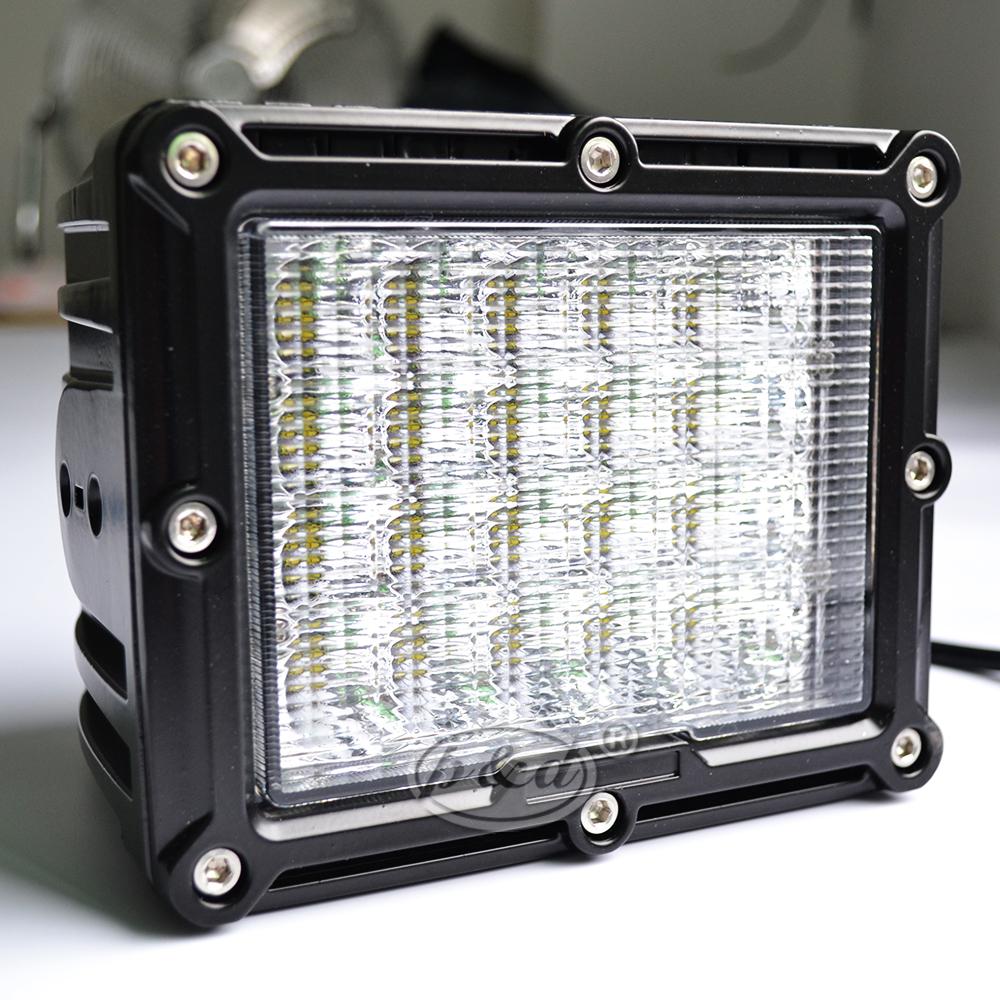 Luz Led de trabajo de alta resistencia, 12V, 24V, 4x4, todoterreno, 7 pulgadas, 100W