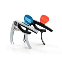 Best Sell multi function custom guitar capo can place picks personalized guitar capo