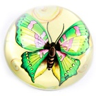 MH-ZZ015 Butterfly photo crystal paperweight for home gifts