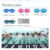 Professional wide soft mirror frame black blue pink silicone swimming goggles for kids adult in guangdong zhongshan