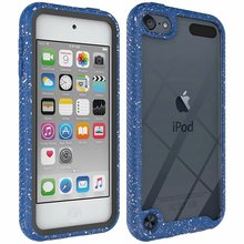Bling Glitter stoßstange protector kristall gel shock proof fall für Apple iPod Touch 5 6 7