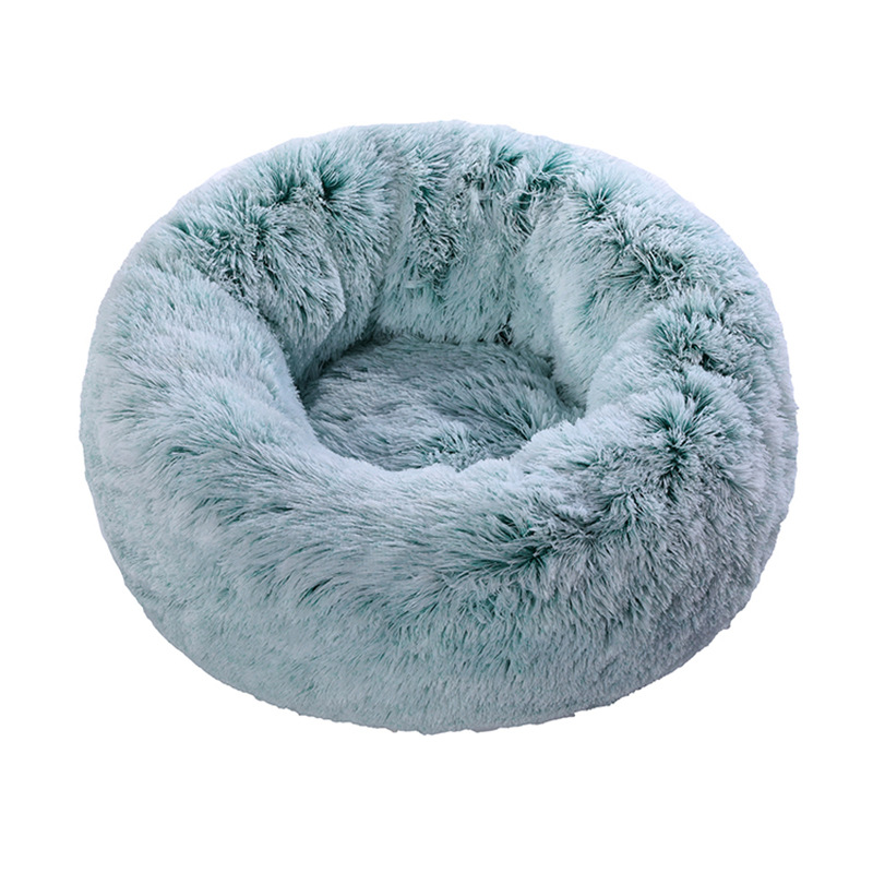 Wholesale Custom Luxury Soft  Plush Dog Nest Cat Mat Pet Beds
