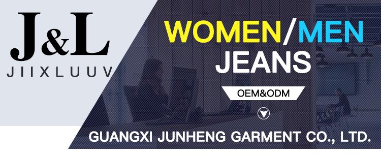 गर्म बेच महिलाओं खिंचाव फैशन पतला जीन्स महिलाओं के साथ 2019 डेनिम जिपर पतलून थोक जींस बंदर धोया जींस