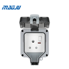 Weatherproof socket IP66 outdoor sockets waterproof switch socket box outlet