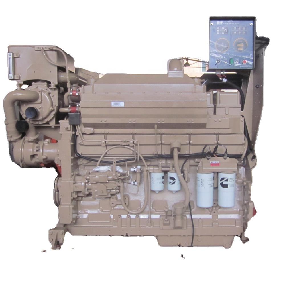 Echte Cummins marine motor KTA19-M K19 500hp boot diesel inboard motor