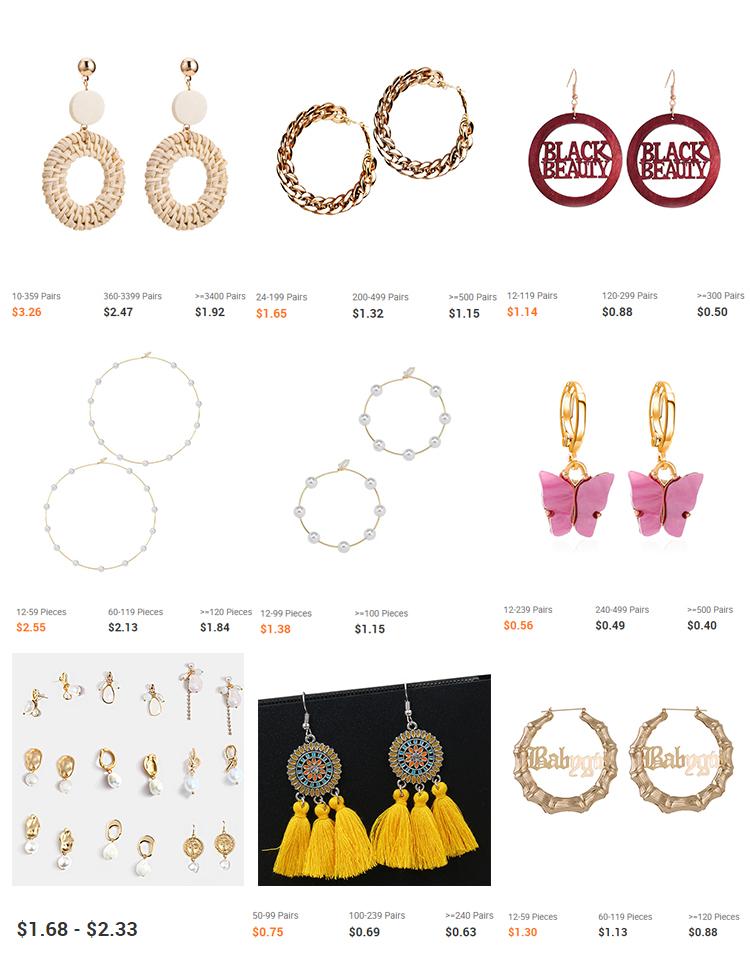 Элегантные золотые ювелирные изделия, жемчужные серьги для женщин, корейские микро покрытые стразами клипсы для ушей 24 пар/кор.