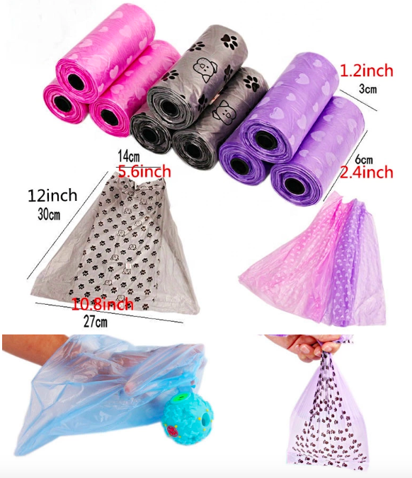 High Quality Pet Scented Dog Poop Bag